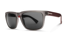 NEW Electric Knoxville Sunglasses-Matte Smoke Ruby-Ohm Grey-SAME DAY SHIPPING!