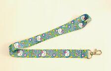 Hello Kitty Yellow Flowers Lanyard, Neck Strap, ID holder, UK Seller