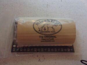 SleekEZ Grooming Tool.  The Original.  5 inch. NIP GROOM CLEAN SHED
