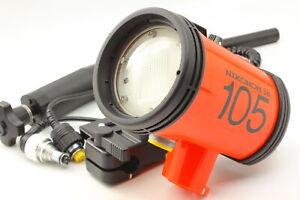[Exc+5] Nikonos Speedlight SB-105 Underwater Strobe Flash From JAPAN