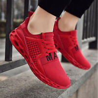 Womens Mens Fashion Athletic Sneakers Running Breathable Sports Walking Shoes
