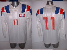 USA Adult Large Vintage United States Adidas Football Soccer Shirt Jersey L/S