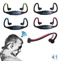 Sport Wireless Bluetooth Handfree Stereo Headset Headphone For iPhone Samsung LO