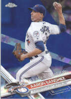 AARON SANCHEZ 2017 TOPPS CHROME SAPPHIRE EDITION #82 ONLY 250 MADE