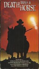 DEATH RIDES A HORSE (VHS) Lee Van Cleef - Giulio Petroni Italian Western OOP