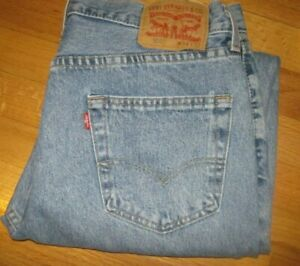 """Levi's MEN'S """"550"""" RELAXED FIT TAPERED LEG JEANS! Sz: 34 X 32!"""