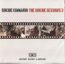 Suicide Commando - Suicide Sessions 3 CD ( Construct-Destruct + Bonus Disc ) NEW