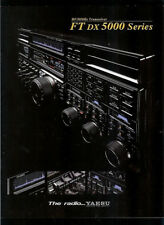 Yaesu FT/DX-5000 HF/50 MHz 200W HAM Radio Rare DEALER BROCHURE READ DESCRIPTION!