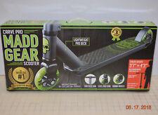 MADD Gear Carve Pro Kick Scooter - Lightweight Deck Black/Green