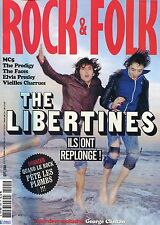 Rock & Folk #445 -The LIBERTINES- MC5, Prodigy, Presley, Vieilles Charrues,...