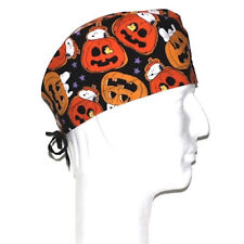 Peanuts Gang Snoopy Woodstock Halloween theme scrub hat