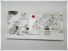 Malaysia 2008 Malaysian Cartoons - Lat  First Day Cover with Miniature Sheet