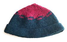 Handmade Crochet Beanie Skull Cap Hat New 100% Wool