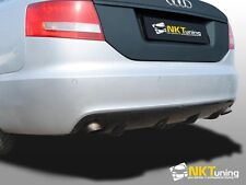 Audi A6 C6 Saloon pre facelift - Rear diffuser RS6 look