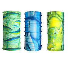 3 Pieces Outdoor Sports Fishing Scarf Bandana Headwear Tuna Mahi Swordfish
