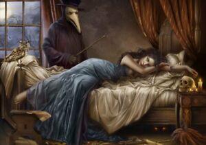 Her Last Breath - 1000 piece puzzle / cris ortega, fantasy art