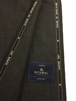 SCABAL Grey Pattern Super 110's  Pure Wool. Made In England.