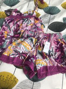 Bnwt M&s 2 Part Pyjamas Set Size 10
