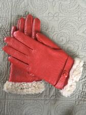 Vintage Red Gloves, Vintage Accessories, Prop, Photoshoot, Theaterical Prop