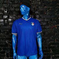 Italy Team Jersey Home football shirt 2007 - 2009 Puma Trikot Mens Size XL