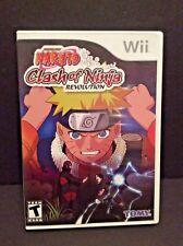 Naruto: Clash of Ninja Revolution (Wii, 2007) In Original Case!!