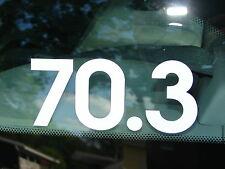 70.3 Decal Sticker Half Ironman Triathlon Cycling