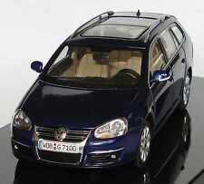 VW VOLKSWAGEN GOLF V 5 VARIANT 2007 BLUE METAL AUTOART 1K9 099 300 D5Q 1/43 BLEU