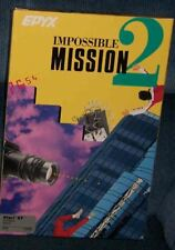 Impossible Mission II Atari 1040/520 ST New EPYX Disk with Yellow Box
