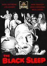 The Black Sleep DVD - Basil Rathbone, Lon Chaney Jr Bela Lugosi, Akim Tamiroff