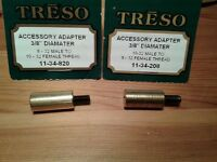 Ramrod Adapter set 10-32 to 8-32, 8-32 to 10-32  Made in USA