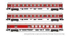 """SH Arnold HN4145 3-teiliges Wagen-set """"intercity"""" der DB"""