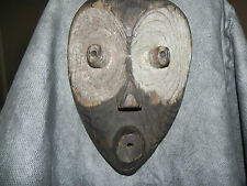 """Arts of Africa - Old- Mambila Mask - Nigeria - Cameroon - 12"""" Height x 8.5"""" Wide"""