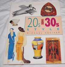 New 20s & 30s Style Book Michael Horsham Illustrated