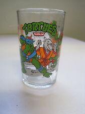 """vintage - verre à moutarde """" LES TORTUES NINJA """" 1990"""
