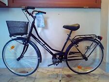 """Bicicletta bici da passeggio Bella Epoque misura 26"""" con cestino"""