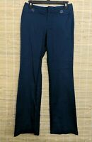 BANANA REPUBLIC MARTIN FIT WOMEN'S DRESS PANTS BLUE SIZE 2 COTTON BLEND 27 X 32