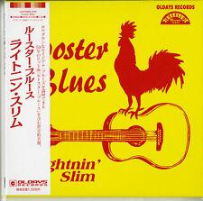 LIGHTNIN SLIM-ROOSTER BLUES-JAPAN MINI LP CD BONUS TRACK C94