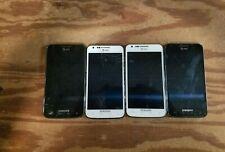 Lot of 4 Samsung Galaxy S2 Skyrocket 16GB(SGH-i727)- AT&T - READ BELOW