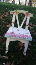 Wooden Chair Children for girls bedroom wood Home Decor Handmade gift for kids