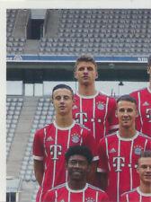 BAM1718 - Sticker 2 - Mannschaftsbild - Panini FC Bayern München 2017/18