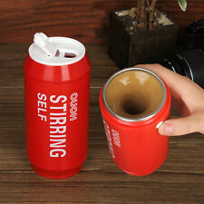 Creative Self Stirring Coffee Cup Electric Car Mug Smart Cans Travel Coffee Cup
