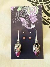 Agate Natural Stone Fashion Earrings