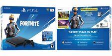 Sony Playstation 4 PS4 1TB Fortnite Neo Versa Console Bundle CUH-2215B Sealed