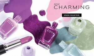 Zoya Charming Collection Spring 2017 Collection Nail Polish Choose Your Colors!