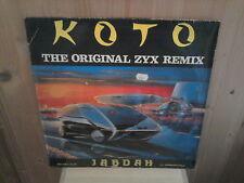"""KOTO jabdah 12"""" MAXI 45T Italo Zyx Remix"""