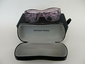 Nicole Farhi Sunglasses Petal Cat. 1 Brand New with Case Bag & Box.