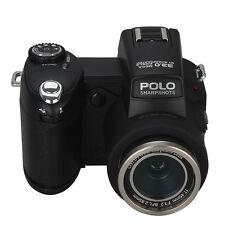 POLO D7200 3.0 inch 33MP 1080P Digital Camera Video+LED Spotlight+3 Lens+Tripod