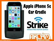 STRIKE ALPHA APPLE IPHONE 5C CAR CRADLE - BUILT-IN FAST CHARGER SECURE HOLD