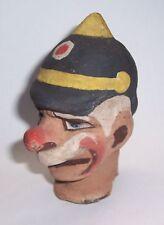 Uralter Masse Kopf für Handpuppe Kasperle-Theater Marionette vor 1945 !