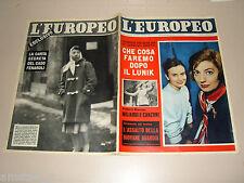 EUROPEO=1959/5=ROSSELLA FALK=ANNA MARIA GUARNIERI=JEAN LANNELONGUE=RINA MANZI=